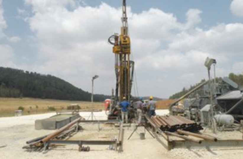 ZOHARIM drilling site 311 (photo credit: Sharon Udasin)