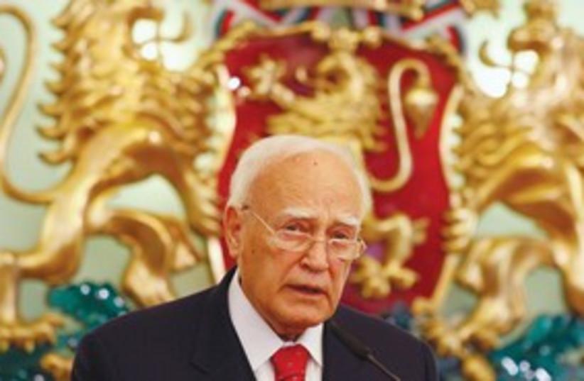 Greek President Karolos Papoulias 311 (photo credit: Stoyan Nenov/Reuters)