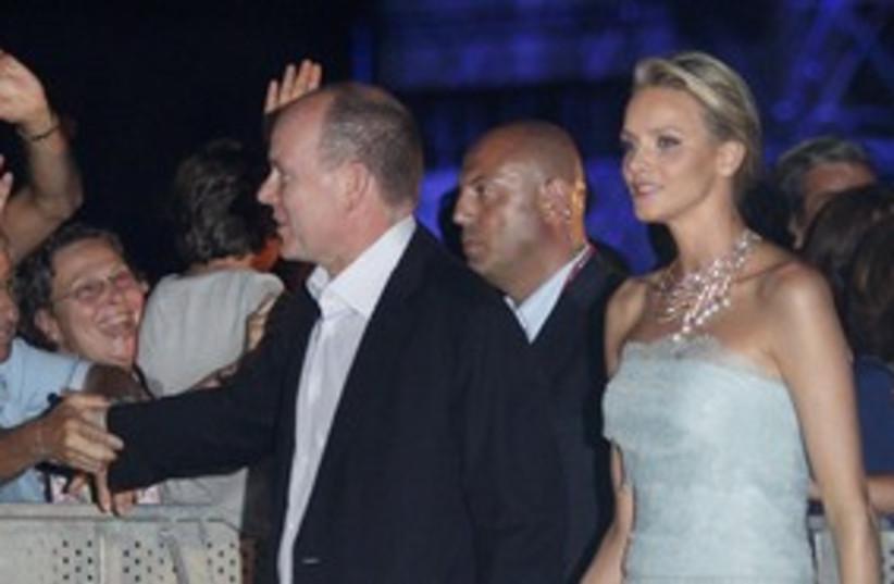 Prince Albert, Wittstock Monaco_311 (photo credit: Reuters)