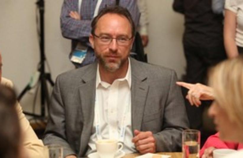 Jimmy Wales_311 (photo credit: Chen Galili)