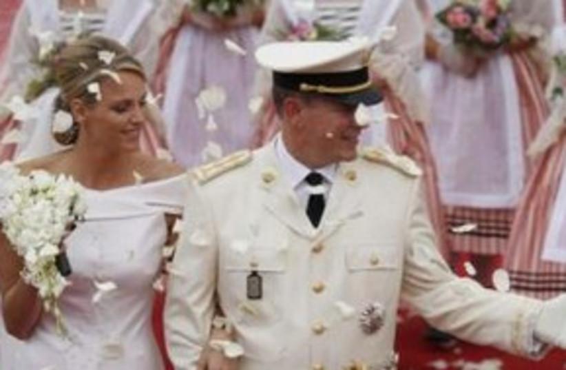 Monaco wedding 311 (photo credit: REUTERS/Benoit Tessier)