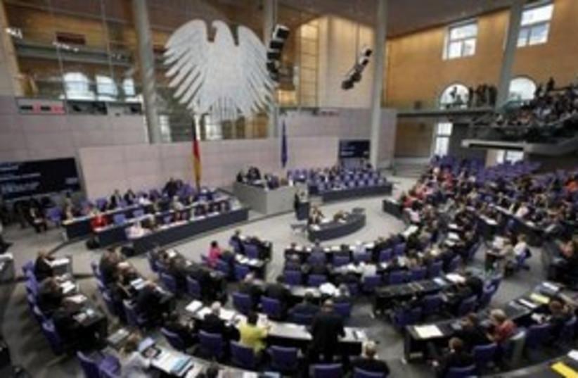 The German Bundestag in Berlin 311 (R) (photo credit: REUTERS/Fabrizio Bensch)