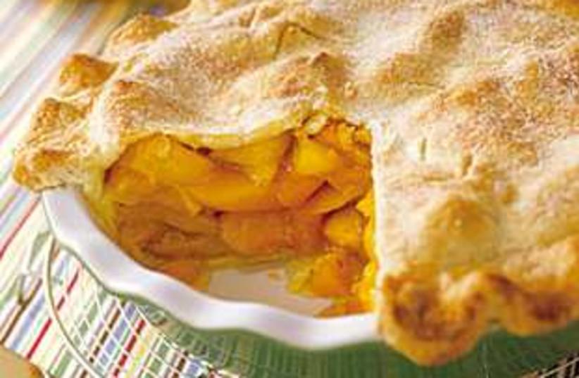 peach pie (photo credit: Courtesy)