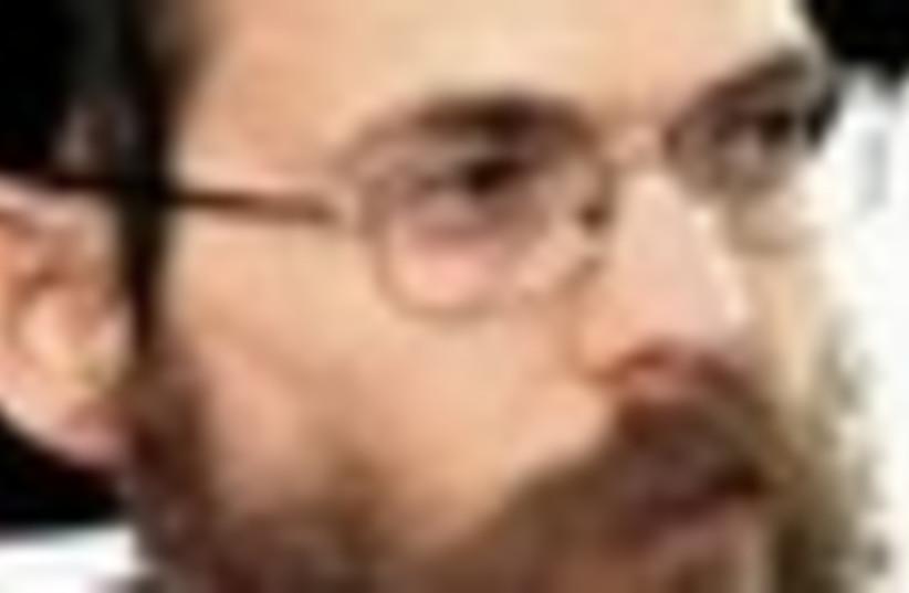 Rabbi Yitzak Shapira 58 (photo credit: Courtesy)