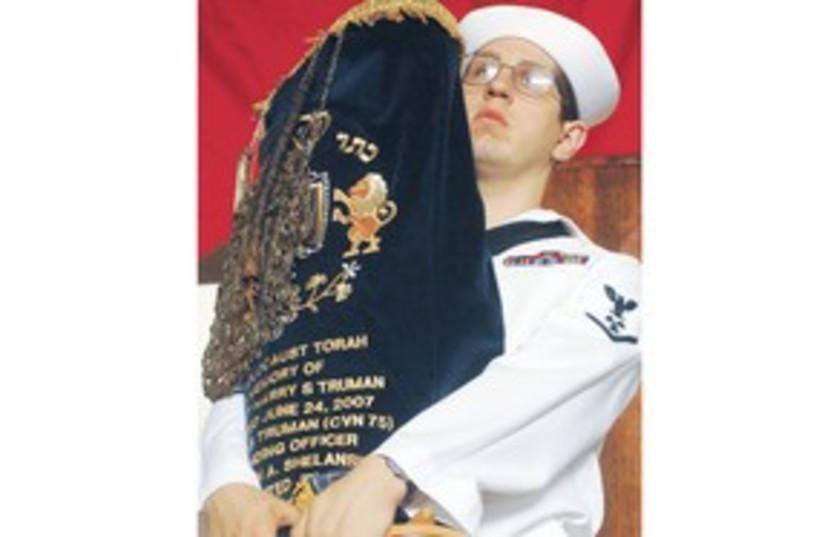 Navy Torah 311 (photo credit: US Navy/Wikipedia Commons)
