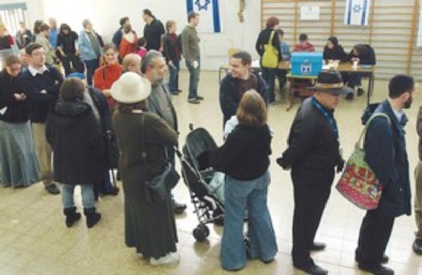 waiting to vote Knesset_311 (photo credit: Ariel Jerozolimski)