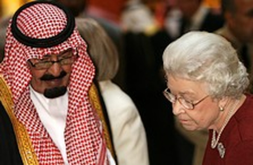 abdullah queen 224.88 (photo credit: AP)