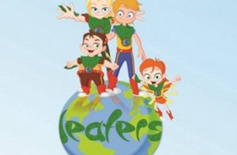 Leafers childrens TV show 311 (photo credit: Amir and Liat Shahar)