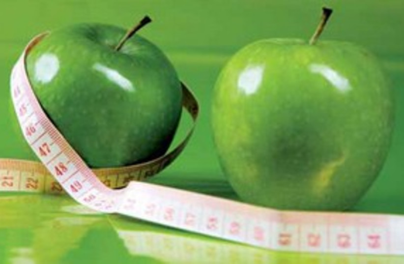 Apples tape measure (photo credit: Courtesy)