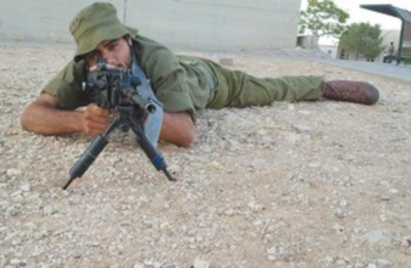 American IDF soldier Becor Dabush 311 (photo credit: IDF)