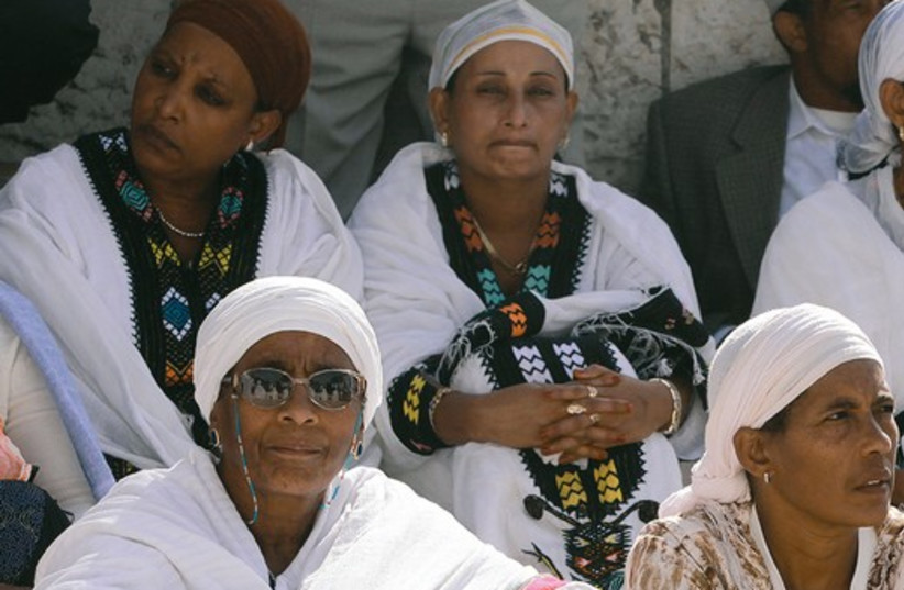Falash Mura women 521 (photo credit: Marc Israel Sellem)