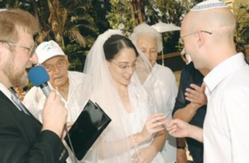 A MASORTI wedding 311 (photo credit: Illustrative photo: Courtesy)