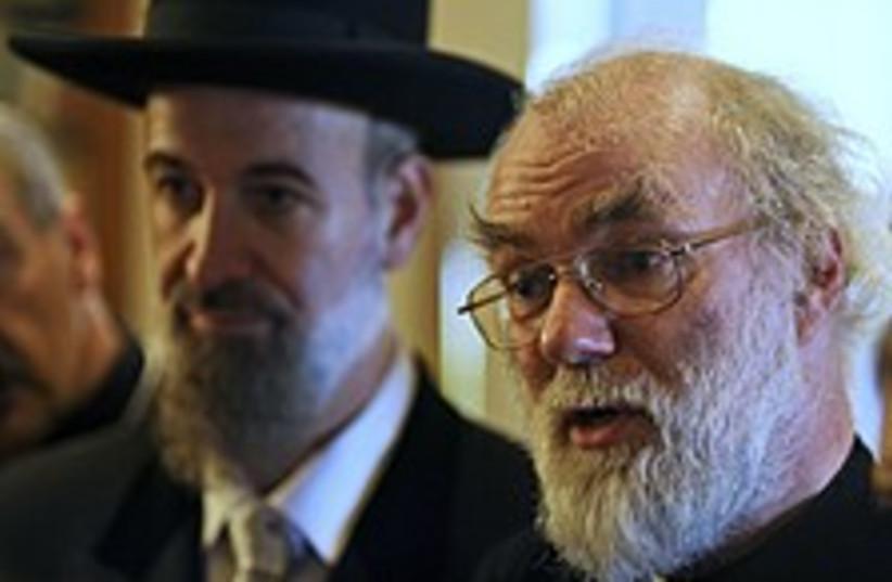 rabbi archibishop 224.88 (photo credit: )