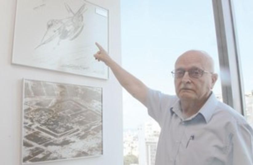 David Ivry (photo credit: (Marc Israel Sellem / The Jerusalem Post)