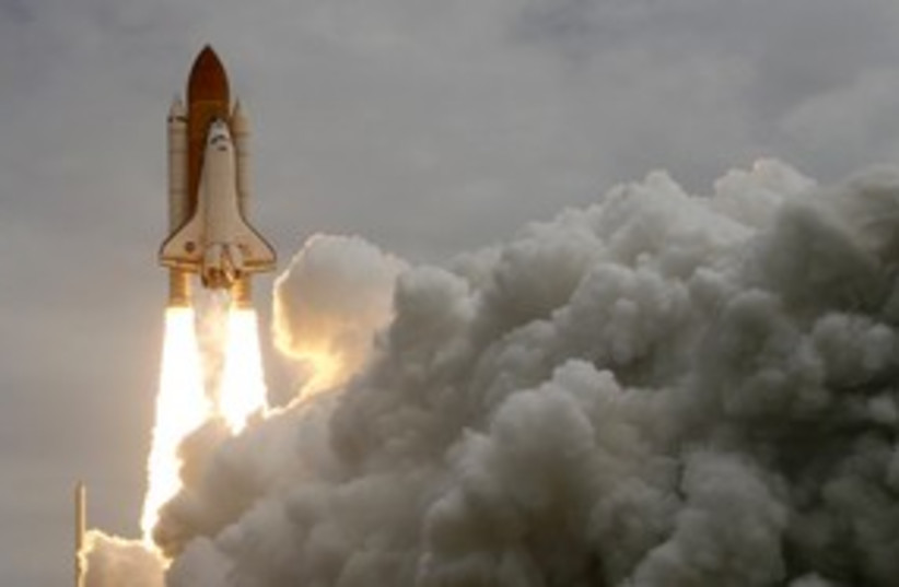 Space shuttle Atlantis NASA_311 (photo credit: Reuters)