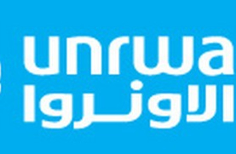 UNRWA logo 311 (photo credit: Courtesy)