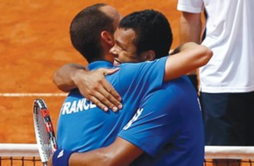 French Davis Cup 311 (photo credit: REUTERS)