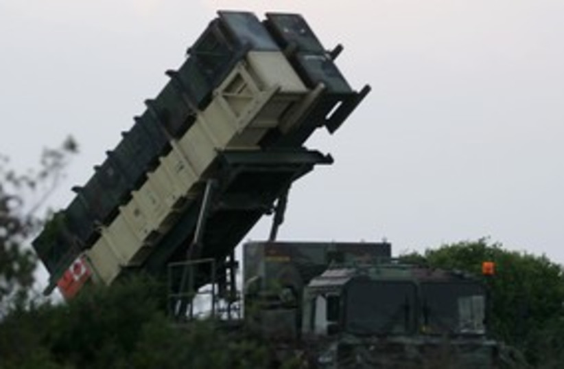 Patriot anti-missile system 311 (photo credit: REUTERS)