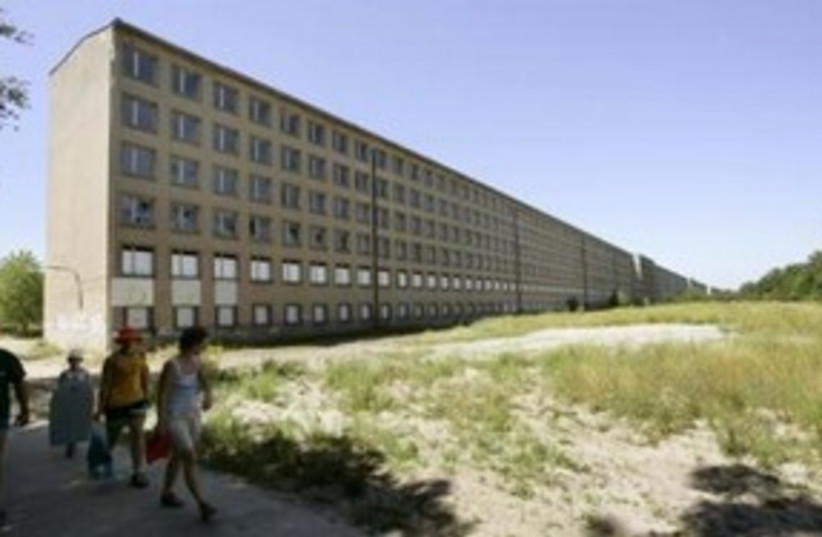 nazi resort Colossus of Prora_311 reuters (photo credit: REUTERS/Arnd Wiegmann)
