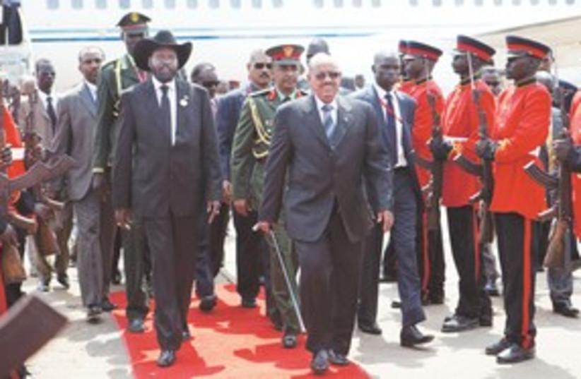 South Sudan 311 (photo credit: REUTERS)
