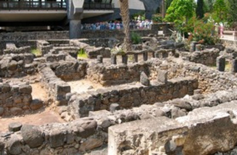 Capernaum 311 (photo credit: Wayne Stiles)