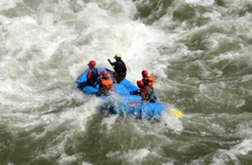 Water rafting 311 R (photo credit: REUTERS)