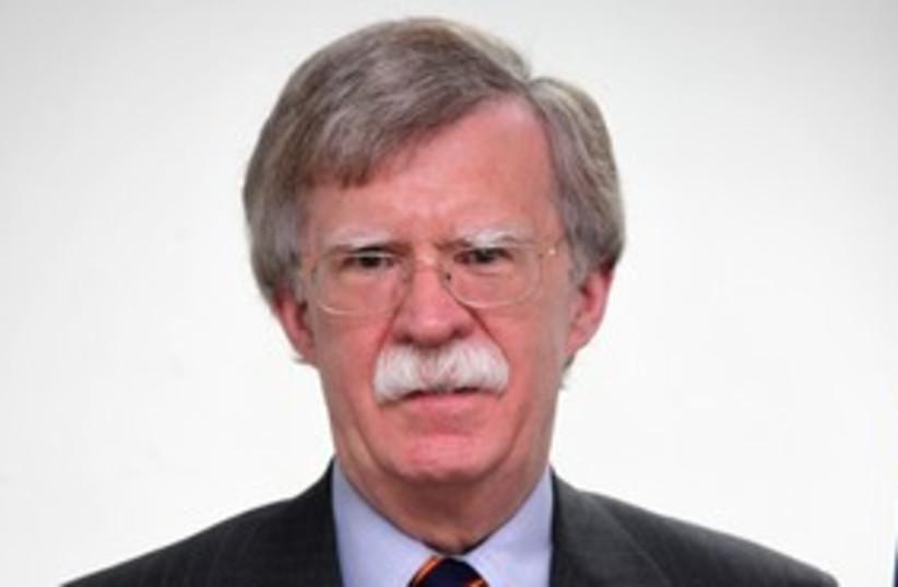 John Bolton 311 (photo credit: Marc Israel Sellem/The Jerusalem Post)