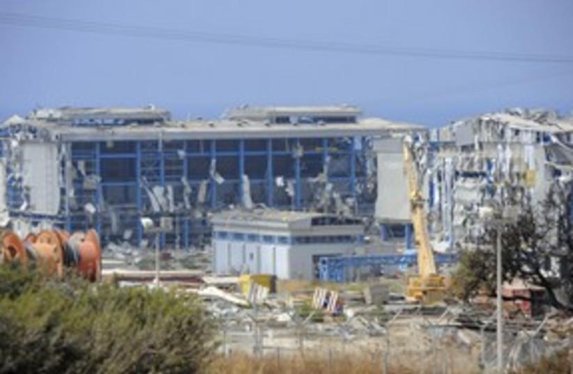 Vassilikos station cyprus_311 reuters (photo credit: STR New / Reuters)