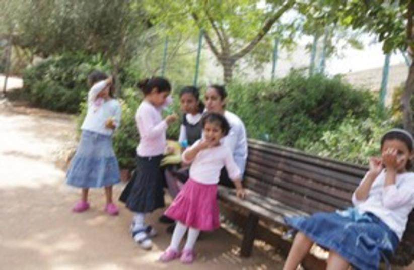 Religious school girls 311 (photo credit: Marc Israel Sellem)