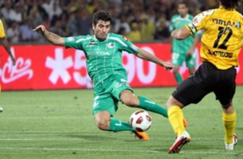 Maccabi Haifa striker Vladimir Dvalishvili 311 (photo credit: Adi Avishai)