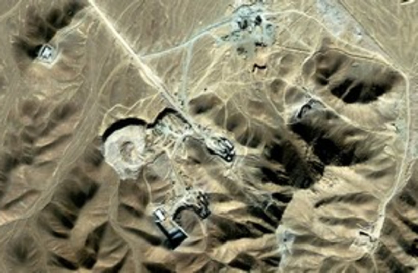 Iran Nuclear Satellite Pic 311 (photo credit: REUTERS)