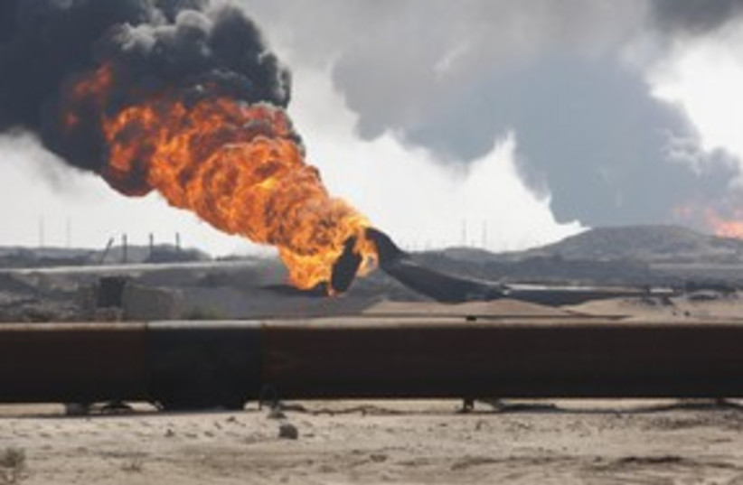 gas pipeline 311 R (photo credit: REUTERS)
