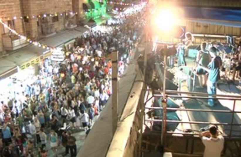 Balabasta festival in Jerusalem (photo credit: ITRAVELJERUSALEM TEAM)
