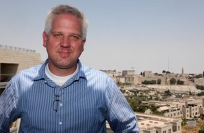 Glenn Beck Jerusalem 311 (photo credit: Marc Israel Sellem)