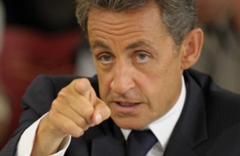 Sarkozy mad 311 R (photo credit: REUTERS)