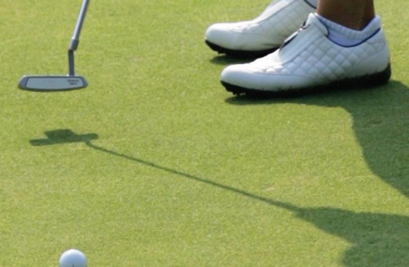 Golf (photo credit: Reuters)
