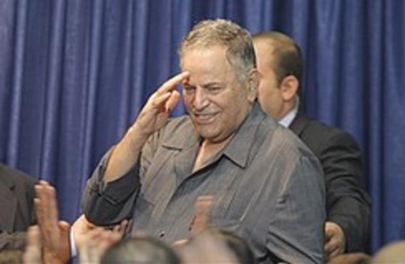 Fatah leader Mohammed Ghneim, also known as Abu Ma (photo credit: AP)