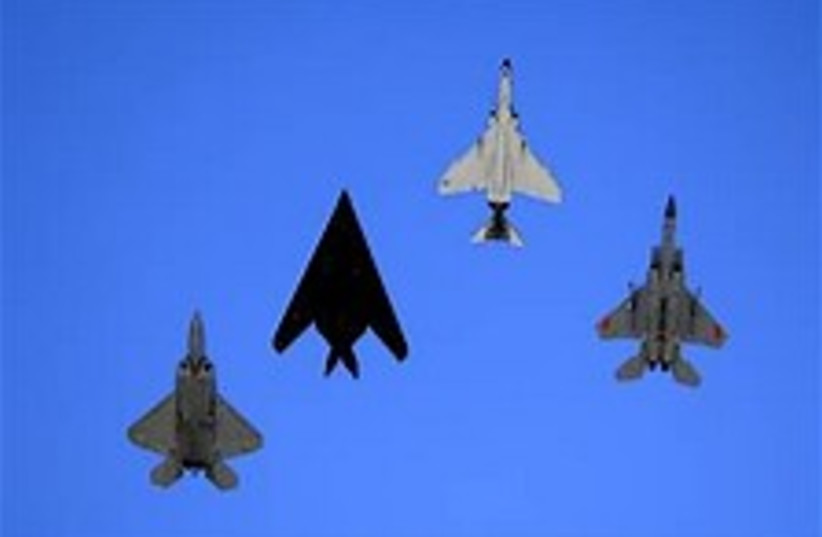 US jets 224.88  (photo credit: US Air Force )