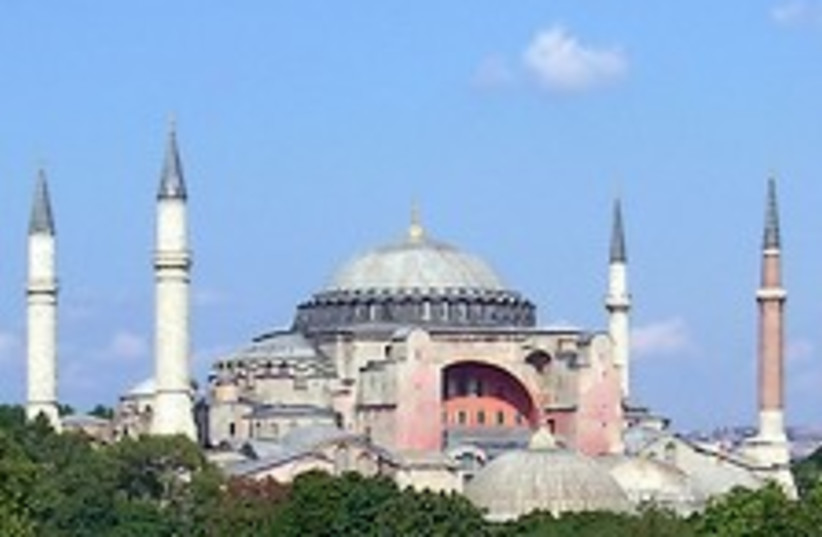 Hagia Sofia Istabul 224. (photo credit: Courtesy)
