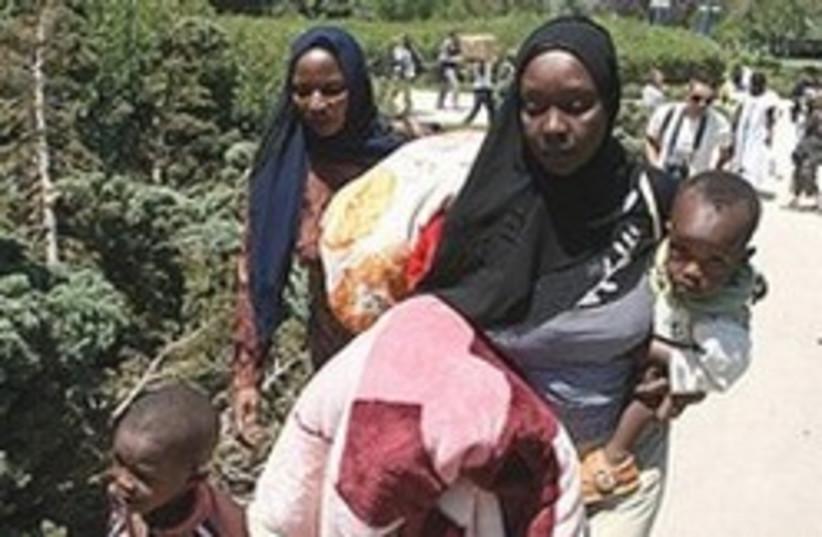 Sudanese refugees 248.88 (photo credit: Ariel Jerozolimski)