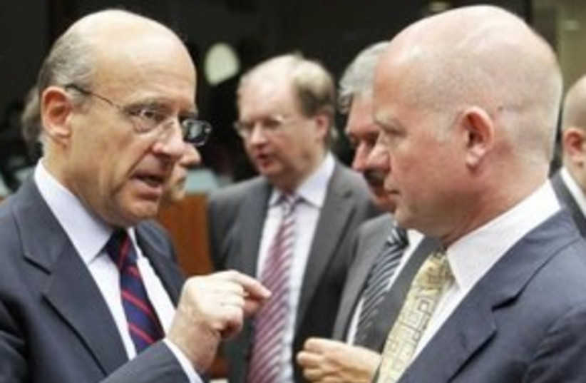 EU Foreign Ministers 311 (photo credit: REUTERS)
