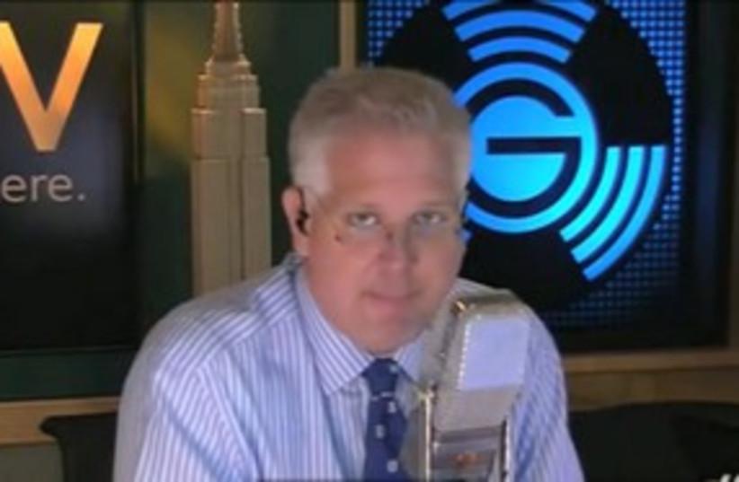 Glenn Beck on radio 311 (photo credit: Courtesy)