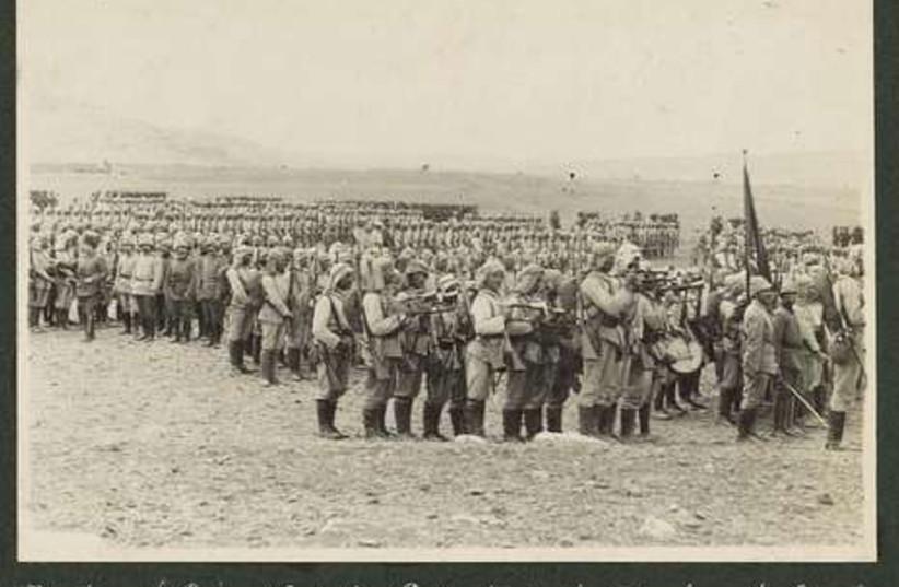 Ottoman troops prepare attack