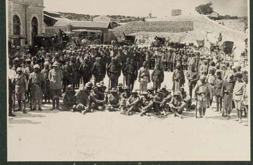 Australian POWs held by Turks 1917
