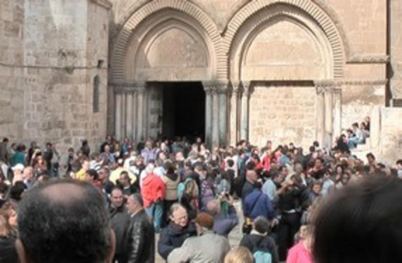 Church of the Holy Sepulchre 311 (photo credit: ITRAVELJERUSALEM TEAM)