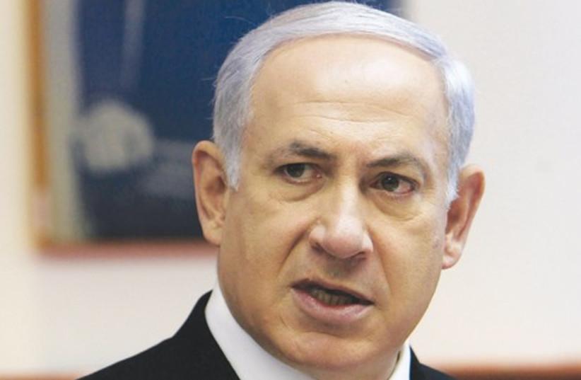 Binyamin Netanyahu 521 (photo credit: REUTERS)