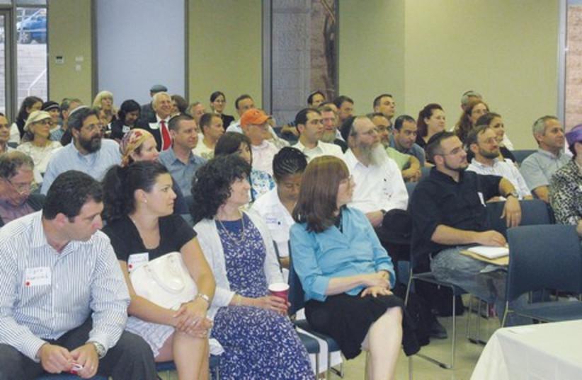 Jerusalem Business Networking Forum 521 (photo credit: Courtesy)