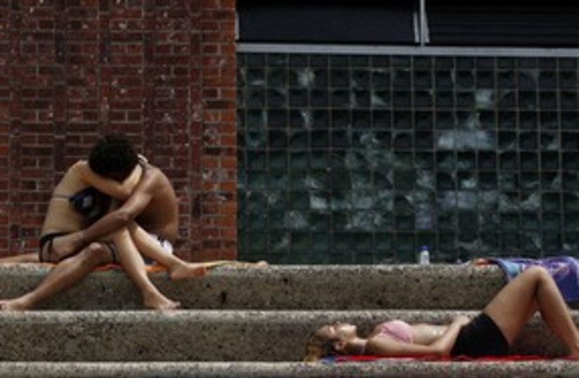 US heat wave New York_311 (photo credit: Reuters)