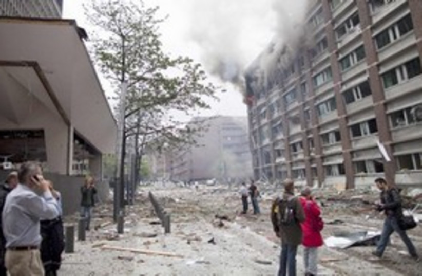 Oslo Bombing 311 R 1 (photo credit: REUTERS)