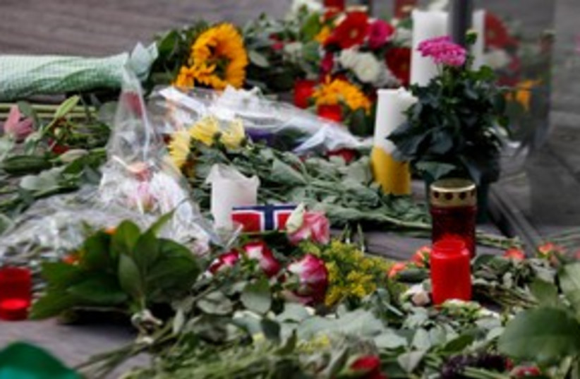 Norway Memorial 311 (photo credit: REUTERS)